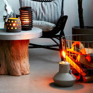 Clay Garden Lantern - home accessories