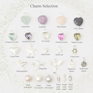 Silver Plated Charms - women's jewellery