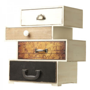 Four Drawer Storage Box - baby's room