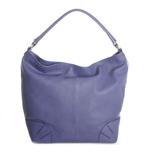 The Bertina Shoulder Bag In Capri Blue