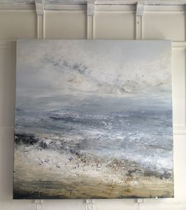 Seascape Abstract Painting 'Eternity' - canvas prints & art