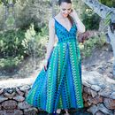 Flared Summer Maxi Dress