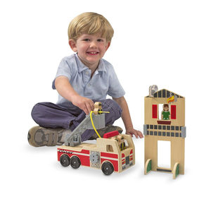 Fire Engine Play Set - gifts for children