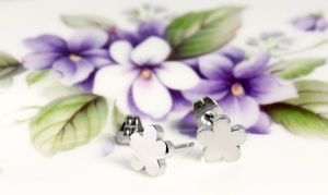 Little Flower Stud Earrings - earrings