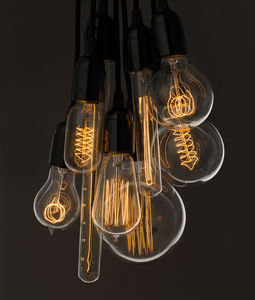Vintage Light Bulb - office & study