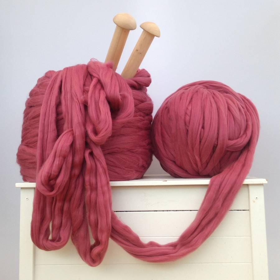 chunky merino wool yarn by wool couture notonthehighstreet.com