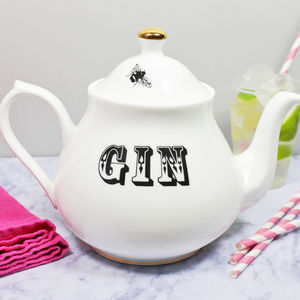 'Gin' Teapot - gifts for her