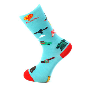 Men's Holiday Novelty Cotton Ankle Socks
