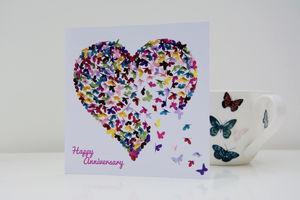 Happy Anniversary Kaleidoscope Card