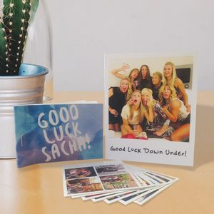 Personalised Photo Sticker Book And Gift Card - card alternatives