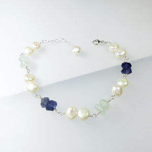 Aquamarine Mix Bracelet