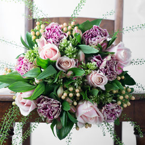 Secret Garden Fresh Flowers Bouquet - flower baskets & boxes