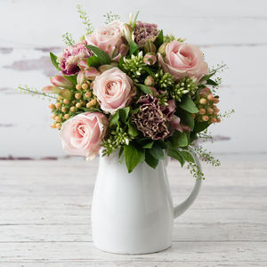 Secret Garden Fresh Flowers Bouquet - alternative flowers & chocolates