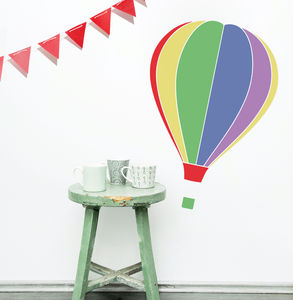 'Hot Air Balloon' Wall Sticker