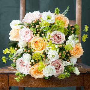 Surprise Fresh Flowers Bouquet - home accessories