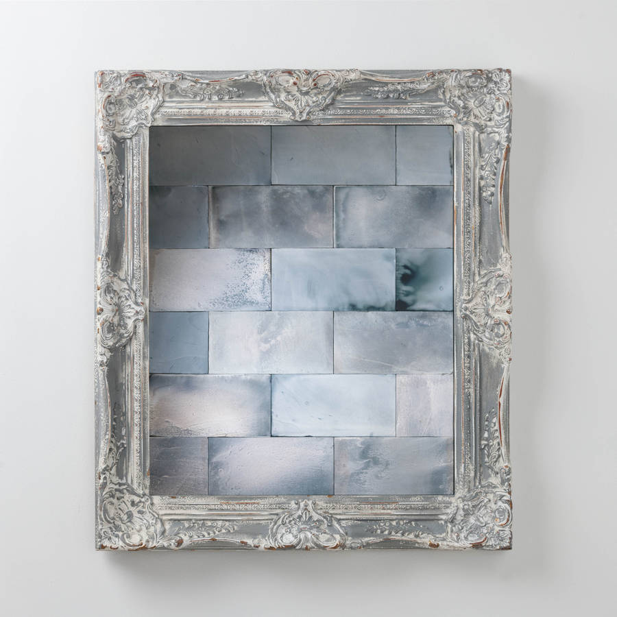 Antiqued Mirror Tiles By Hand Crafted Mirrors