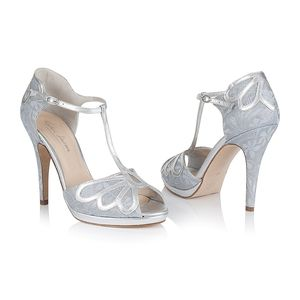 Carina Platform Wedding Shoes - bridal shoes