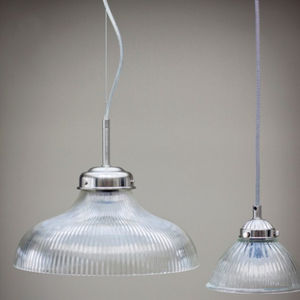 Paris Nickel Pendant Light - pendant lights