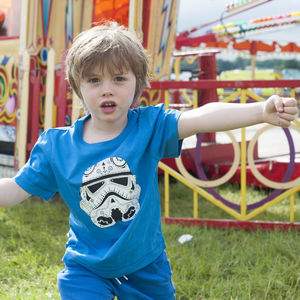 Child's Stormtrooper Candyskull T Shirt - clothing