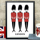 Alice Tait 'London Soldiers' Print