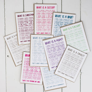 Ten Assorted Poem Print Postcards