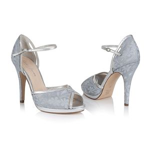 Ava Lace Platform Wedding Shoes