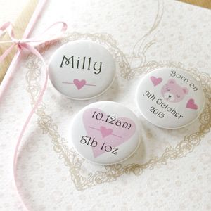 Large Luxury Mini Magnets New Baby Card