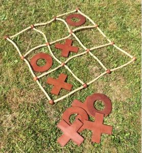 Noughts And Crosses / Garden Tic Tac Toe - outdoor toys & games