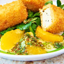 Lemon Battered Halloumi
