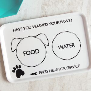 'Dog's Dinner' Tray - gifts for your pet