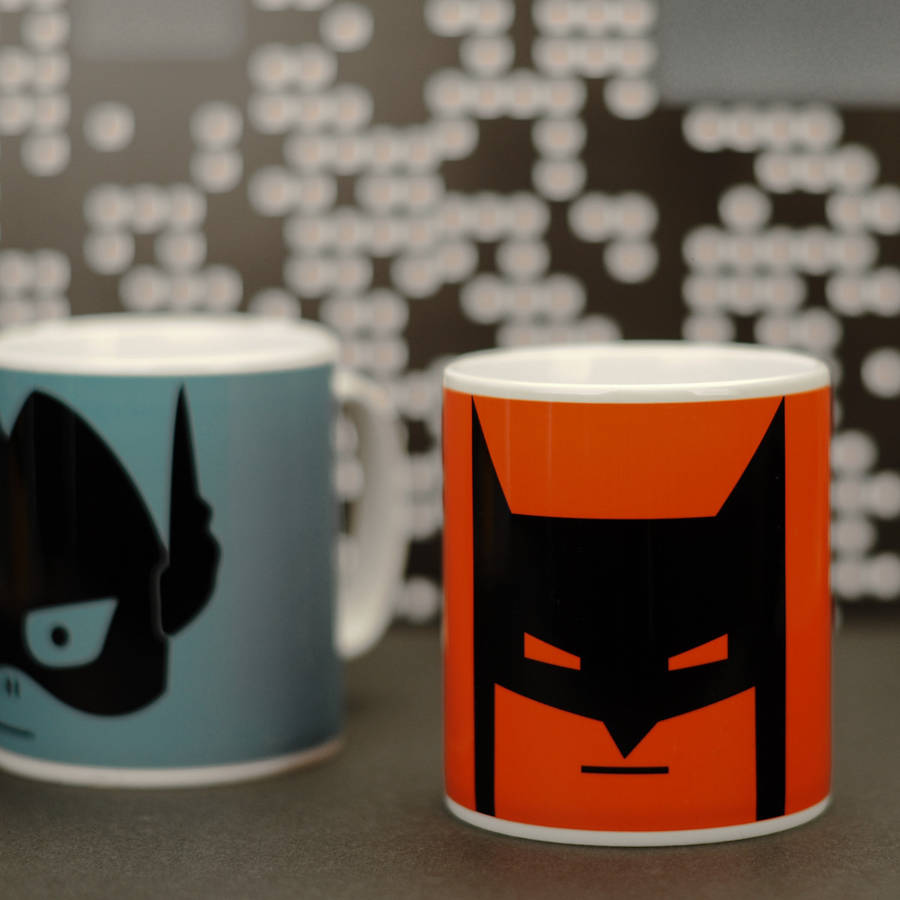 Big Kids Superhero Mug