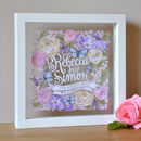 Personalised Wedding Day Papercut