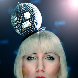 Disco Ball Fascinator