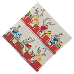 Knights Party Paper Napkins