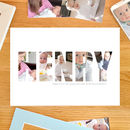 Personalised 'Boy's name' Photograph Print