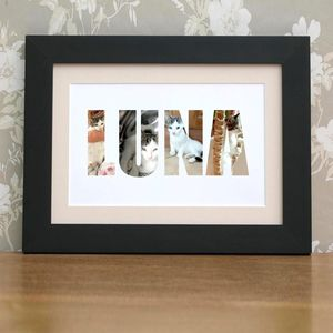 Personalised Pet Photograph Print - pet-lover
