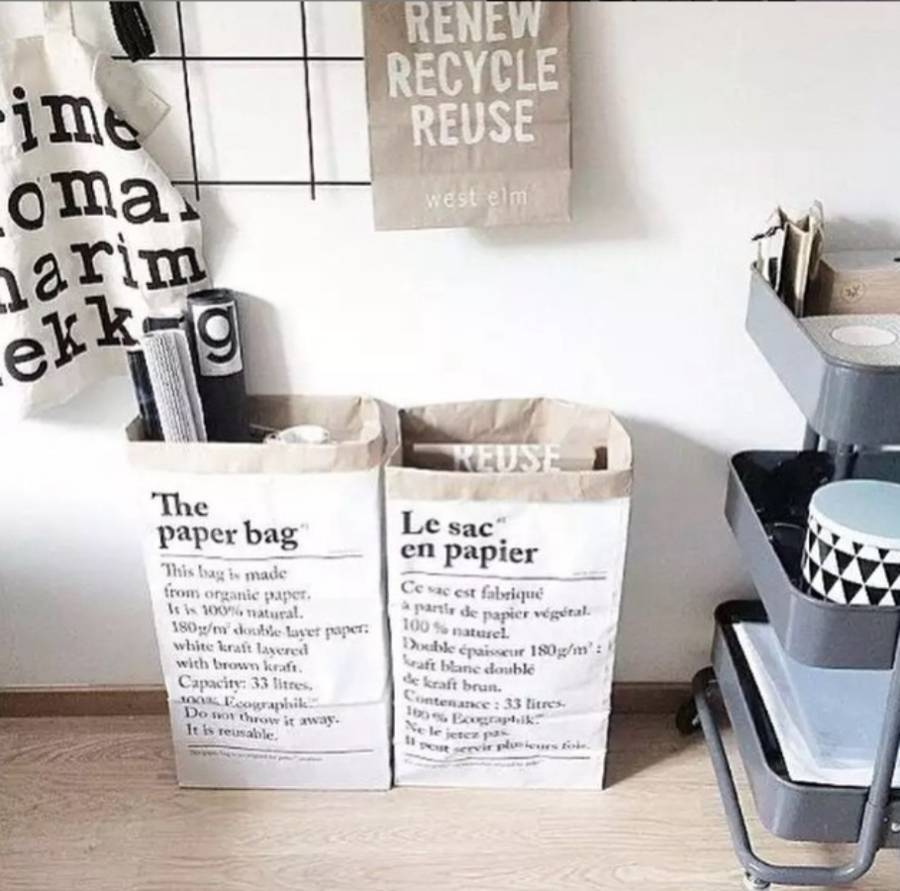 Le Sac En Papier Or The Paper Bag By Peastyle