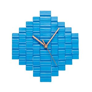 Reclaimed Metal Pixel Clock - what's new