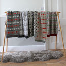 Small Patterned Lambswool Blankets