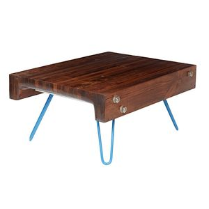 Coffee And Tea Reclaimed Wood Table