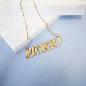 Hashtag Tokyo Necklace