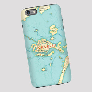 Venice Map iPhone Samsung Phone Case - men's accessories