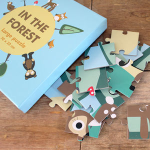 Wooden Forest Puzzle - board games & puzzles