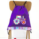 Personalised Girls Tractor Bag