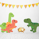 Children's Dinosaur Wall Sticker Set
