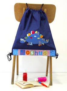 Dinosaur Personalised Bag - bags, purses & wallets