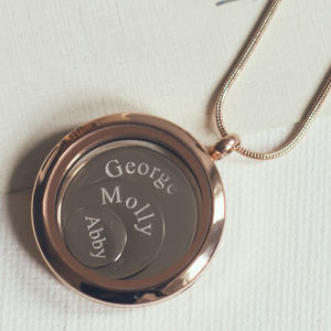 Large Mixed Metal Disc Locket - necklaces & pendants
