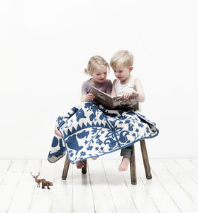 Fairytale Organic Blanket - cot bedding