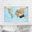 Personalised Map Of The World