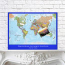 Personalised Map Of The World2